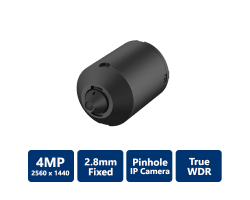 4MP Covert Pinhole Network Camera-Lens Unit