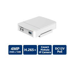 4MP Covert Pinhole Network Camera-Main Box