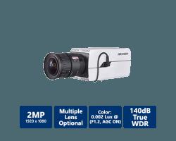 Hikvision 2MP Smart Network Box Camera