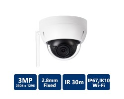 3MP HD Wi-Fi IR Mini Dome Camera