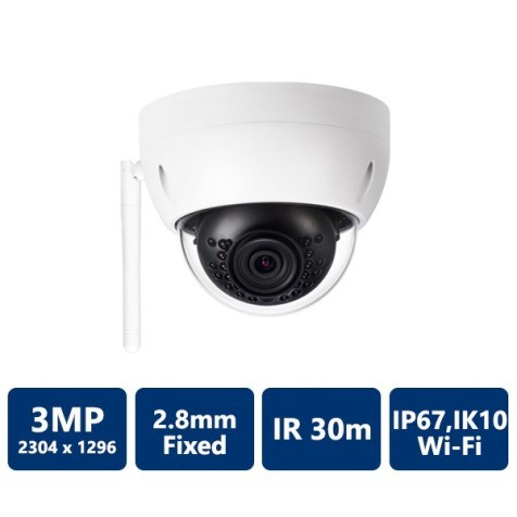 3MP HD Wi-Fi IR Mini Dome Camera