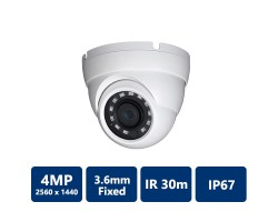 4MP HDCVI WDR IR Eyeball Camera