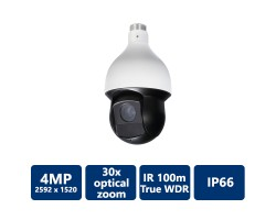 4MP 30x IR HDCVI PTZ Camera
