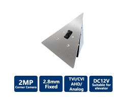 2MP 4-in-1 HD Corner Mount Hidden Camera