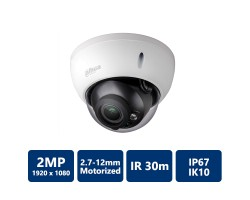 2.1 MP IR Motorized HDCVI Dome