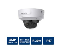 4MP IP Motorized Dome Network