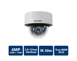 4MP IP Varifocal Dome Network