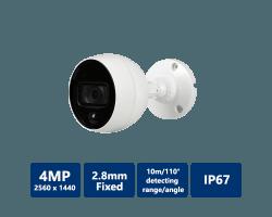 4MP HDCVI MotionEye Camera