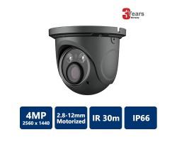 EYEONET CAM-IP6194G-Z 4MP Network 30m IR Water-proof Turret Camera