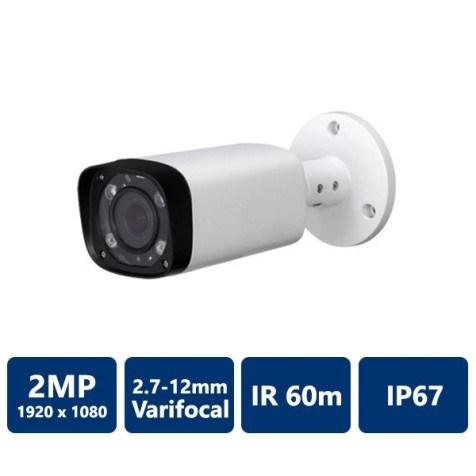2MP Water-proof Bullet, IR60M, 2.7-12mm