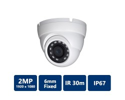 2MP IR Mini Dome, 6mm