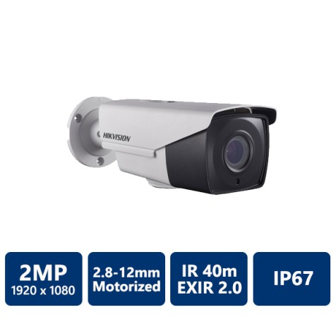 2MP Ultra-Low Light EXIR Bullet Camera