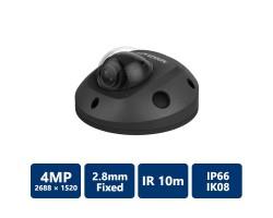 4MP IR Fixed Mini Dome IP Camera 2.8 mm