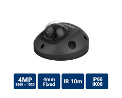 4MP IR Fixed Mini Dome IP Camera 4.0 mm