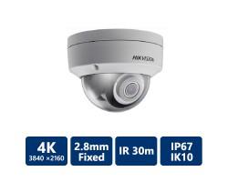 4K IR Dome IP Camera 2.8 mm
