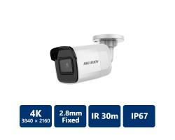 4K Powered by DarkFighter Mini Bullet IP Camera