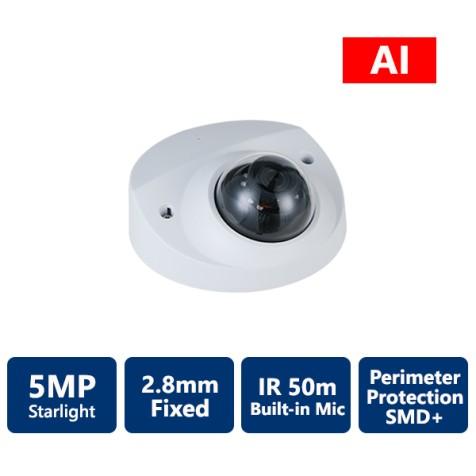 5MP IP AI Series StarLight Mini Dome Camera