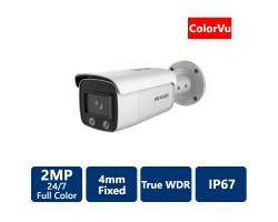 2 MP ColorVu Bullet IP Camera, 4mm