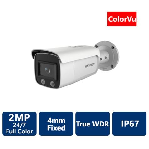2 MP ColorVu Bullet IP Camera, 4mm
