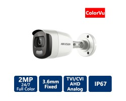 2 MP ColorVu Bullet 4-in1 Camera, 3.6mm
