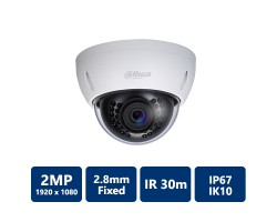 1080p HDCVI Mini Dome Camera, 2.8mm