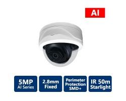 5MP AI IP Starlight Dome Camera