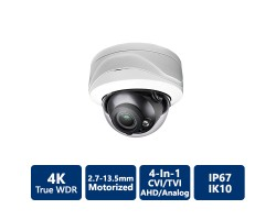 4K 4-in-1 HD Dome Camera, Motorized
