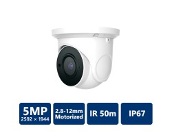5MP IP Eyeball Camera, Motorized