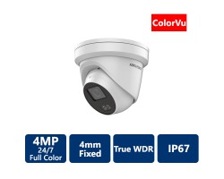 4 MP ColorVu Turret IP Camera, 4mm