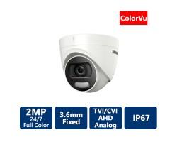 2 MP ColorVu Turret 4-in1 Camera, 3.6mm