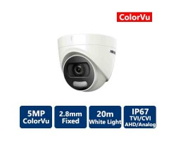 Hikvision 5MP ColorVu Turret Outdoor Network Camera