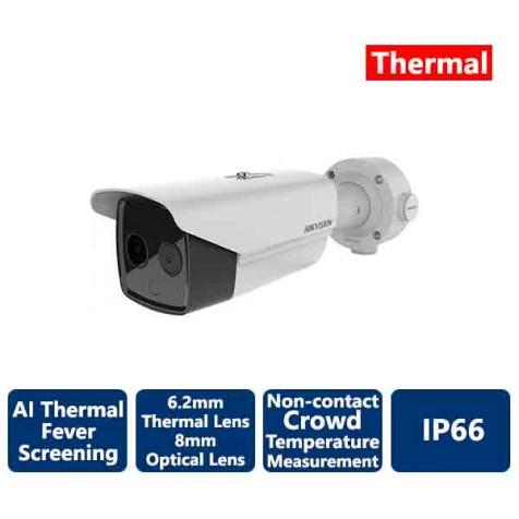Hikvision AI Fever Screening Thermal Bullet IP Camera 160x120