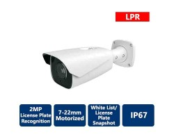 2MP IP AI License Plate Recognition Camera