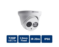 HikVision DS-2CE56C5T-IT1 TurboHD 720P EXIR Low Light Turret Camera