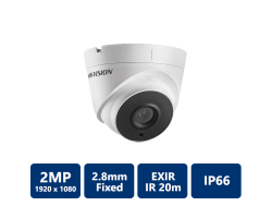 HikVision DS-2CE56D1T-IT1 HD1080P EXIR Turret Camera