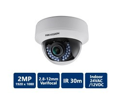Hikvision DS-2CE56D5T-AVFIR HD1080P WDR Indoor Vari-focal IR Dome Camera