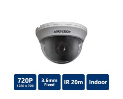 Hikvision DS-2CE55C2N 720 TVL PICADIS Indoor Dome Camera