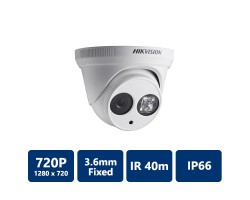 Hikvision DS-2CE56C2N-IT3 720 TVL PICADIS EXIR Dome Camera, 2.8mm