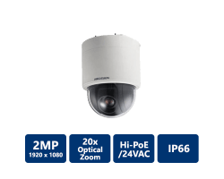 Hikvision 2MP Indoor Network 20x PTZ Dome Camera, 4.7-94mm