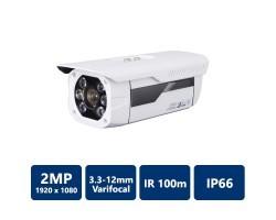 3.3-12 Lens, IR up to 100M