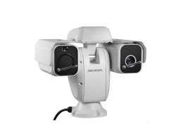 Hikvision 640x512 Outdoor Bi-Spectrum Upright PTZ Camera, 50mm