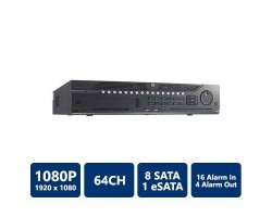 Hikvision DS-9664NI-ST 64-Channel NVR, No HDD