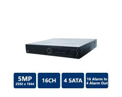 Hikvision DS-7716NI-SP/16 16-Channel NVR, No HDD