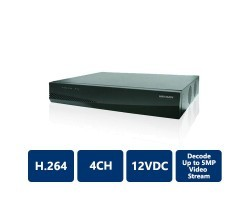 Hikvision DS-6404HDI-T 4-Channel, 120VAC High Definition Video Decoder
