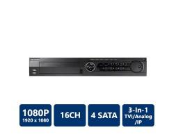 Hikvision DS-7316HQHI-SH Tribrid DVR, 16 Channel, H.264, No HDD