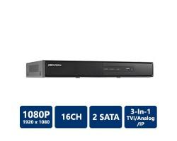 Hikvision DS-7216HGHI-SH Tribrid DVR, 16 Channel, H.264, No HDD