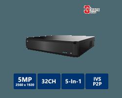 EYEONET 32CH 5MP Ultra HD All-In-One HDVR
