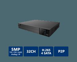 EYEONET 32CH 5MP 5-In-1 HDVR