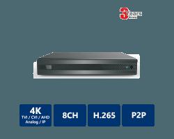 EYEONET 8CH 4K 5-In-1 HDVR