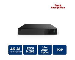 EYEONET 32CH 4K AI Face Recognition NVR
